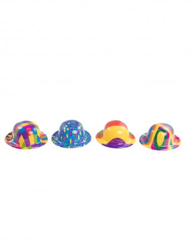 Mini cappello di plastica clown per adulto