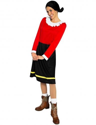 Costume da Olivia™ di Braccio di ferro per adulto