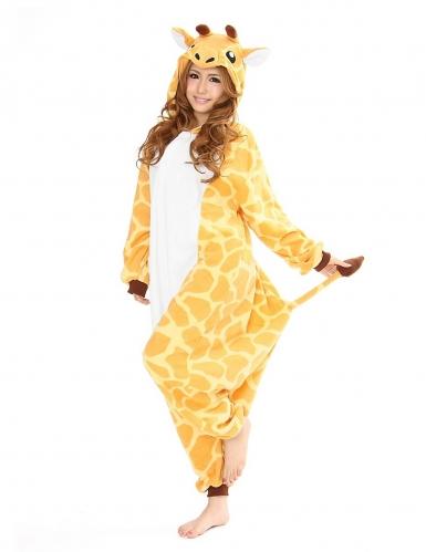 Costume Kigurumi™ da giraffa per adulto