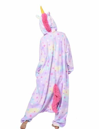 Costume Kigurumi™ da unicorno pastello per adulto-1