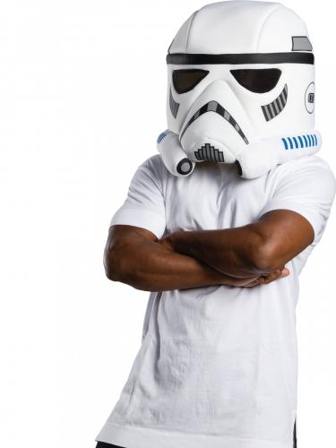 Maschera mascotte Stormtrooper™ adulto