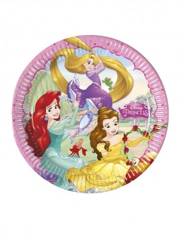 8 Piatti in cartone Principesse Disney™