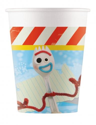 8 Bicchieri in cartone Toy Story 4™ 200ml