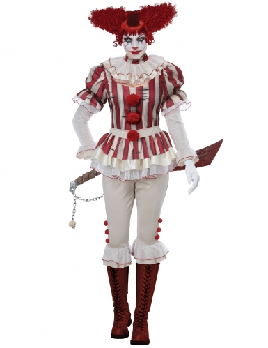 Costume clown psycho donna