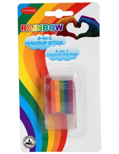 Stick trucco 6 in 1 arcobaleno