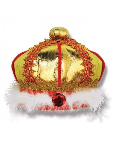 Corona da re per bambino in tessuto