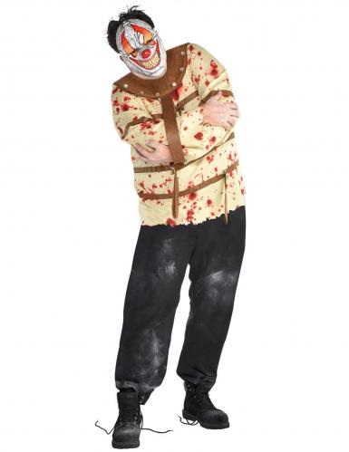 Costume clown internato per uomo