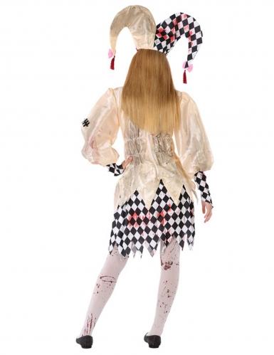 Costume da giullare insanguinato adolescente-2