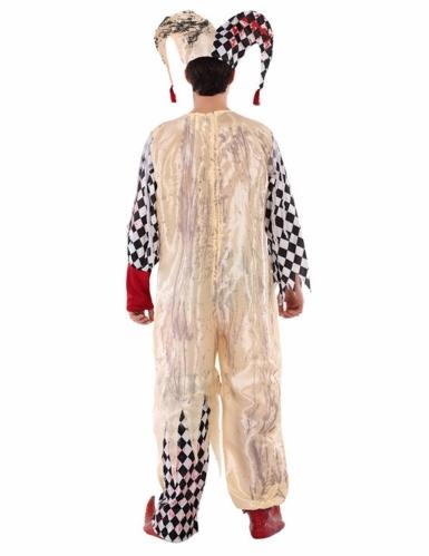 Costume giullare insanguinato adolescente-2