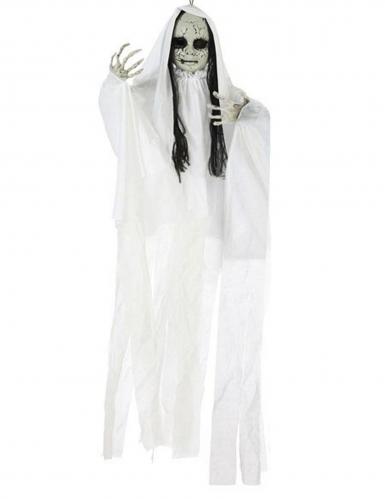 Decorazione bambola fantasma luminosa 100 x 70 cm