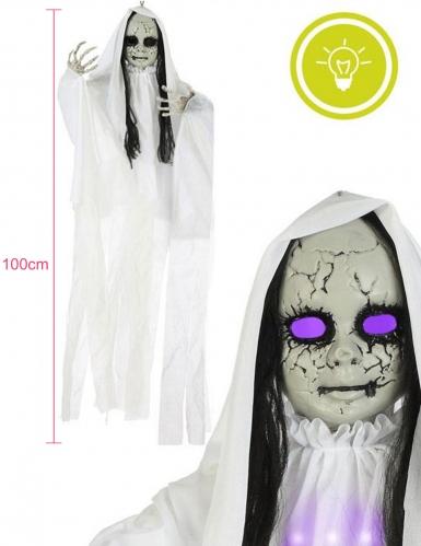Decorazione bambola fantasma luminosa 100 x 70 cm-1