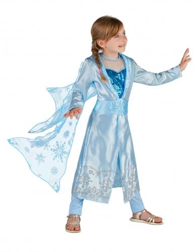 Costume Principessa blu Grand Nord Bambina -1