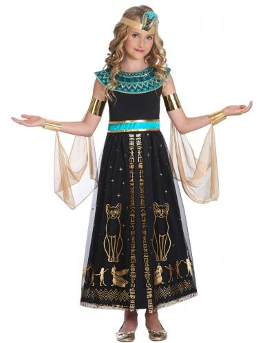 taglia 40 aspetto dettagliato bellezza Costume cleopatra regina d'egitto per bambina