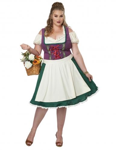 Costume bavarese grande taglia donna-1
