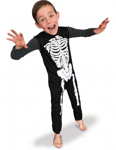 Costume scheletro classico bambino