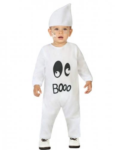 Costume fantasma Booo bebè