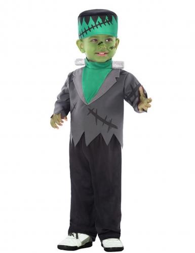 Costume da mostro artificiale verde bebè