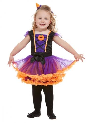 Costume tutu da zucca bambina