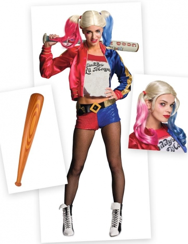 Set costume Harley Quinn per donna