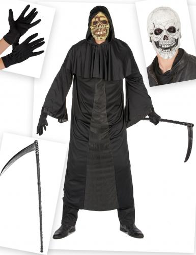 Set costume e accessori da morte per uomo