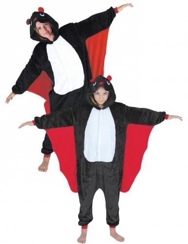 Costume coppia tuta pipistrello adulto e bambino