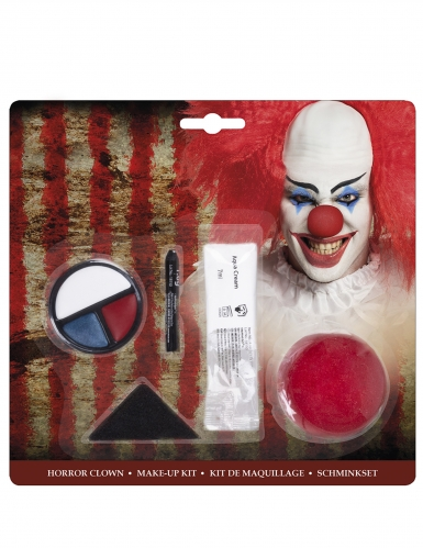 Kit trucco clown spaventoso