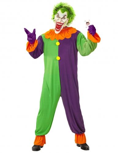 Costume giullare psicopatico adulto