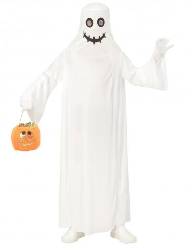 Costume da fantasma bianco bambino-1