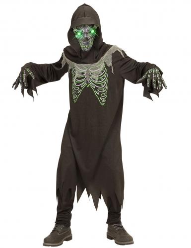 Costume morte nero e verde bambino