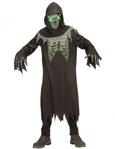 Costume morte nero e verde bambino-1