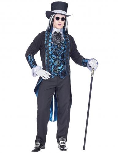 Garanzia di soddisfazione al 100% ottenere a buon mercato goditi la spedizione gratuita Costume vampiro vittoriano blu per uomo