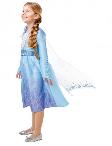 Costume classico Elsa Frozen 2™ bambina -1