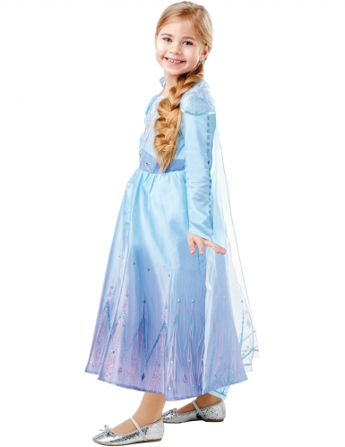 Costume deluxe Elsa Frozen 2™ bambina-2