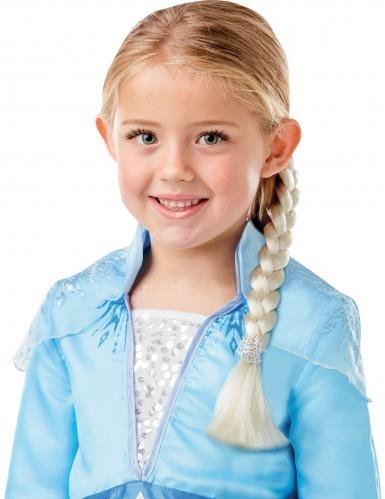 Cofanetto costume e treccia di Elsa Frozen 2™ bambina-1