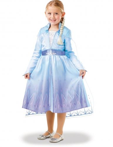 Cofanetto costume e treccia di Elsa Frozen 2™ bambina-3