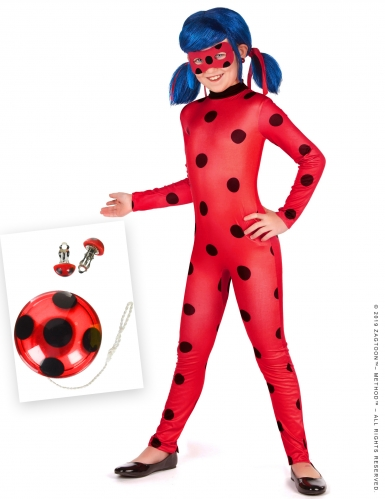 Set Costume Ladybug™ Miraculous™ bambina