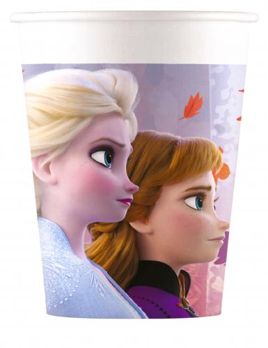 8 bicchieri in cartone Frozen 2™ 200 ml