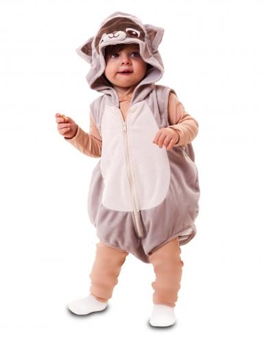 Costume da procione per bebè