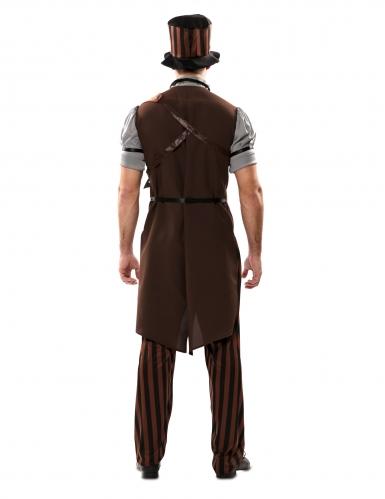 Costume steampunk uomo con cappello-1