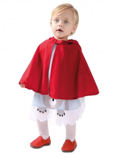 Costume da piccolo cappuccetto rosso per bebè