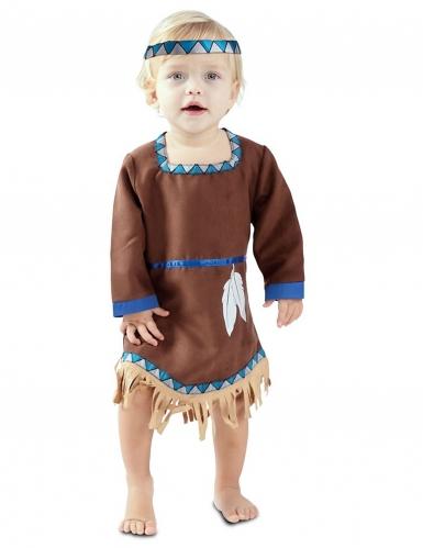 Costume da piccola indiana per bebè