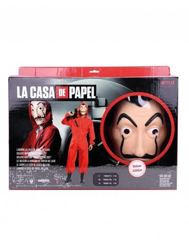 Cofanetto deluxe Costume La casa di carta™ per adulto-1