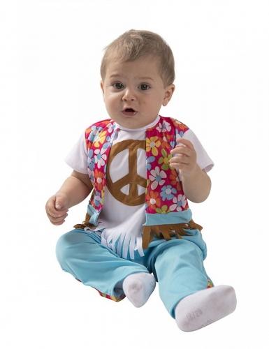 Costume neonato piccolo hippie