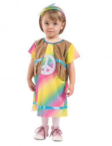 Costume da piccola hippie per bebè