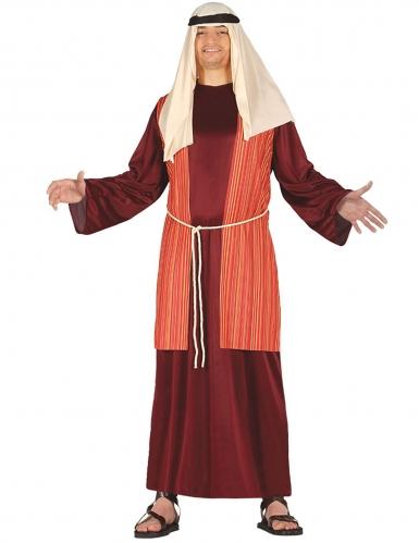 Costume pastore rosso uomo