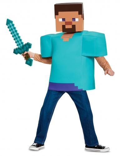 Costume Steve Classico Minecraft™ bambino -2