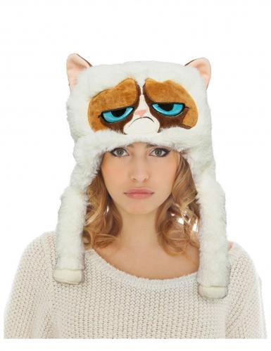 Copricapo Grumpy cat™ per adulto