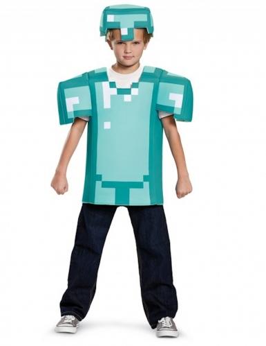 Costume armatura Minecraft™ bambino