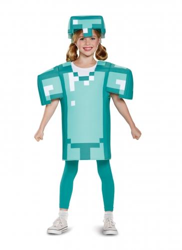 Costume armatura Minecraft™ bambino-1