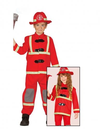 Costume pompiere rosso per bambino-1